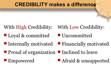 Of Mba Credibility by Credibility By Barry Posner Mba Forum Turkey April 2010