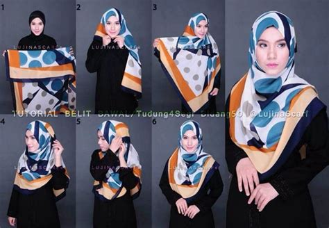 tutorial jilbab yang syar i 1000 images about hijab tutorial on pinterest simple