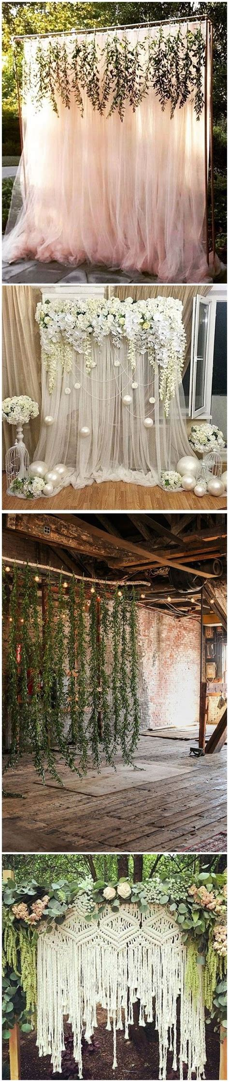 backdrop ideas 30 unique and breathtaking wedding backdrop ideas