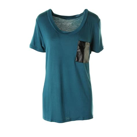 womens knit tops steve madden 8876 womens jersey knit lounge pullover top