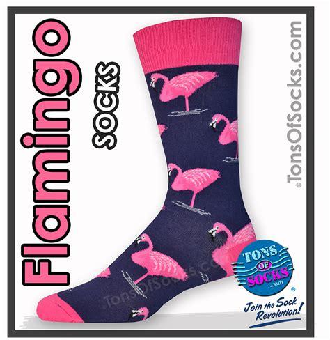 Kokacharm Knee High Socks Flamingo s colorful flamingo socks