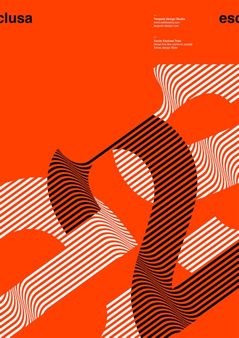 design poster modern collection of minimalist poster design