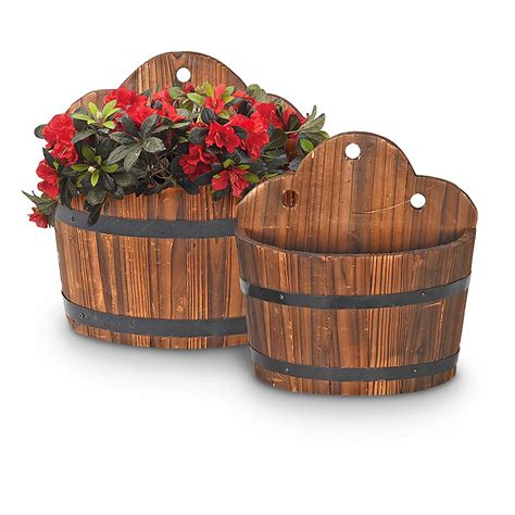 2 pc set of wall mounted planters 232116