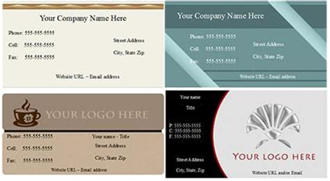 open office business card template open office business card template lovetoknow