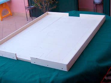 costruire tavolo subbuteo co a sei