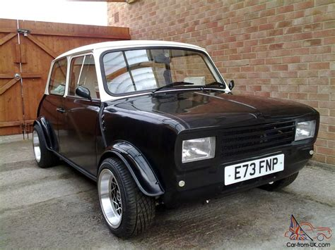 Handmade Cars Uk - highly modified classic mini 1380 flip front