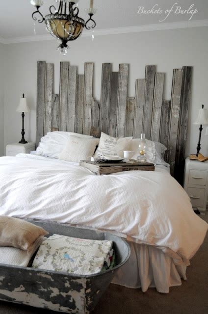 rustic chic master bedroom 25 best headboards featured at remodelaholic diy