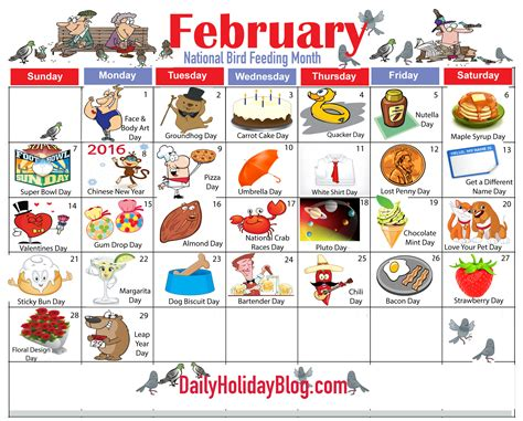 Feb 2013 Calendar Monthly Holidays Calendars To Upload