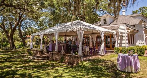 outdoor wedding venues in charleston south carolina distinctive outdoor wedding venues in downtown charleston sc the river house kf wedding