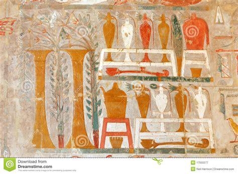 vasi egiziani antichi vino egiziano fotografia stock libera da diritti