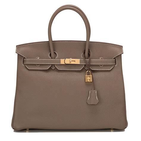 New Arrival Hermes Birkin Clemence 8876 hermes birkin bag 35cm etoupe clemence gold hardware world s best