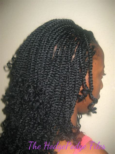 crochet braids twists kinky twists the crochet braid version veepeejay