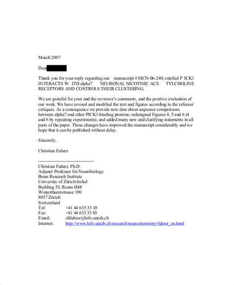 letter of rebuttal template letter of rebuttal