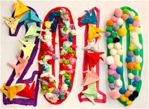 preschool theme on new year 17 best images about new year s crafts on