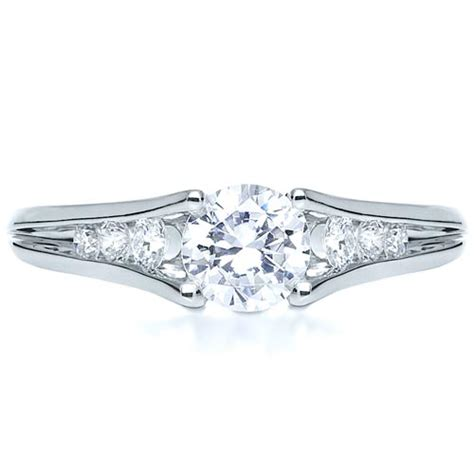 Tension Set Engagement Rings by Tension Set Engagement Ring 215