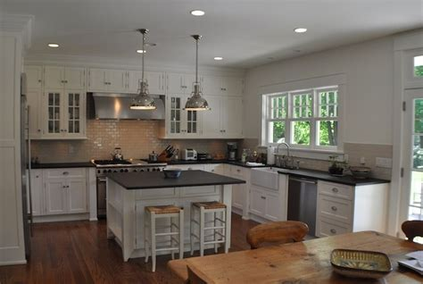 industrial farmhouse kitchen island source msm property development gorgeous open kitchen with white glass front kitchen cabinets