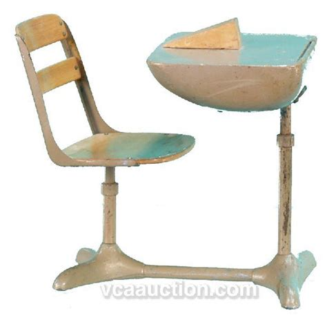 School Desk With Chair Attached by Antique School Desk And Chair Attached Hostgarcia