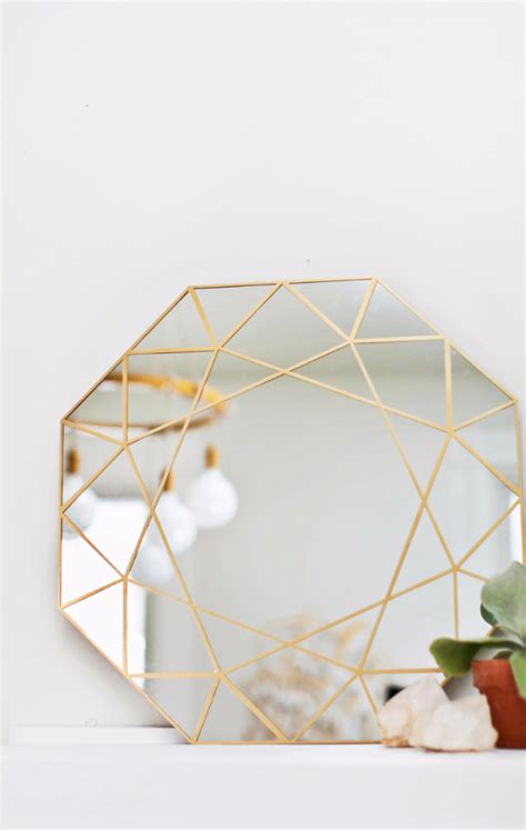 mirror craft paper 41 diy mirrors you need in your home right now diy