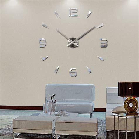 modern diy wall 2016 new diy wall clock acrylic diy clocks quartz