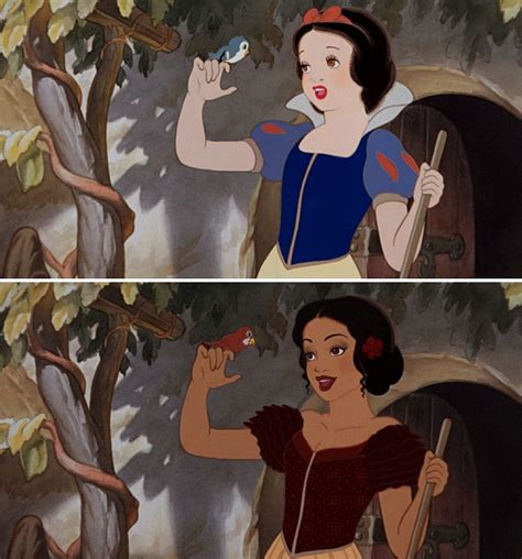 see what you would look like with different color hair this is what disney princesses would look like with