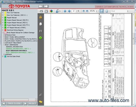 toyota hiace custom wiring diagram 28 images