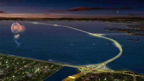 qingdao haiwan bridge jiaozhou bay bridge china feel the planet