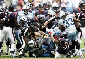 Nfl fights taking tackling to another level fantasy sports icon