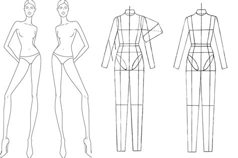 fashion design croquis templates the croquis part i