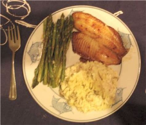 protein 6 oz tilapia visual food friday april 22 2011