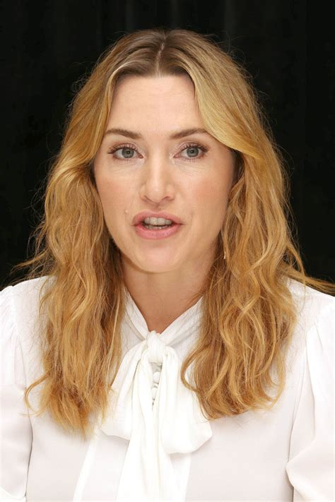 Kate Winslets by Kate Winslet At Wheel Press Conference In New