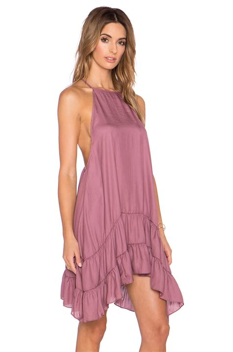 Dress Slid Pink free slip dress in pink lyst