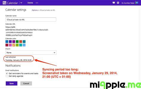 Icloud Calendar Outlook Syncing Windows Phone 8 Calendar With Mac Ical Miapple Me