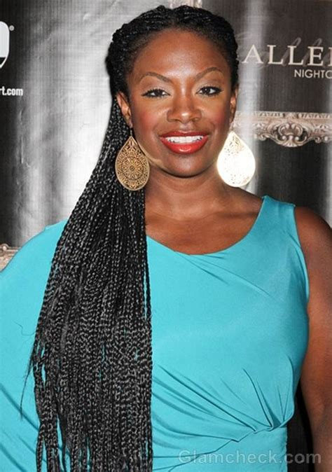 african american hairstyles kandi burruss updo kandi burruss long skinny braids naturally embraced