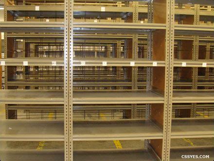 used industrial metal shelving steel shelving