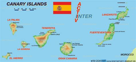 map of canary islands where are the canary islands maps of the canary islands