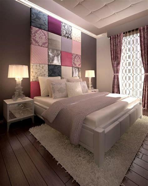 bett rückwand gestalten dekoration wohnzimmer afrika