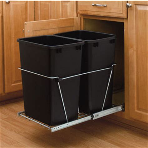 Rev A Shelf Garbage by Waste Containers Trash Cans Garbage Bins Recyclers By