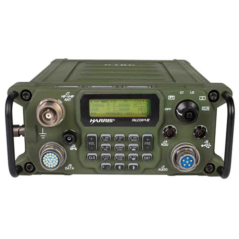 boat ham radio harris falcon iii 174 rf 7800h mp wideband hf vhf tactical