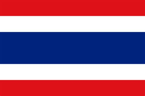 Flag Of Thailand Philippines National Flag Coloring