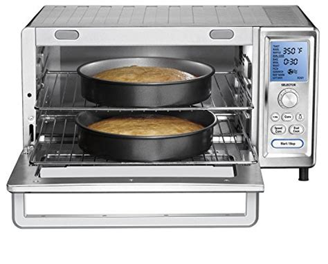 Toaster Oven Stainless Steel Interior New Cuisinart Tob 260n1 Chef S Convection Toaster Oven