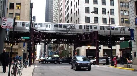 The Chicago L chicago l cta the loop