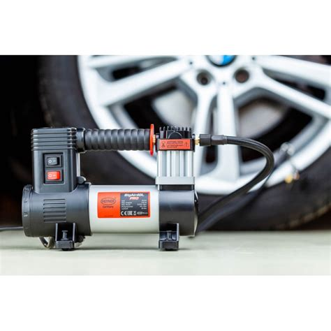 heyner bigair 40l 12v air compressor with led l tyre inflator
