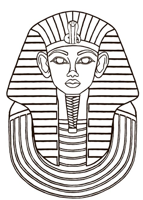 design art egypt egyptian sarcophagus designs then i did a line drawing
