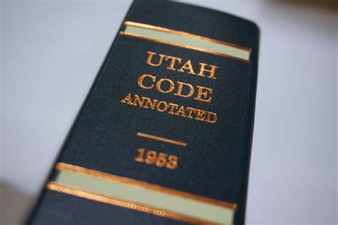 Utah State Court Records Government Records Laws