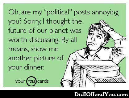 Blank Ecards Meme - are my political posts annoying you e cards graphics