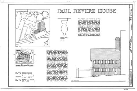 Paul Revere House Floor Plan paul revere house 19 north square boston suffolk county