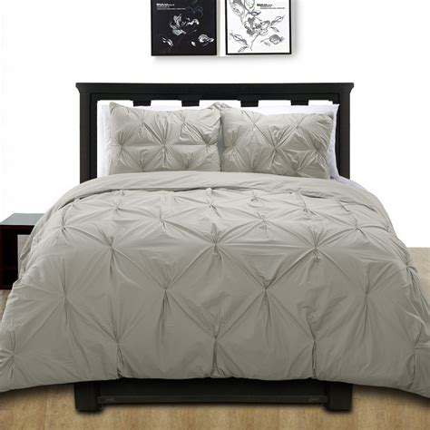 pintuck bedding cotton basics cottonesque 100 cotton pintuck duvet cover