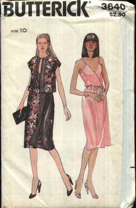 kimono pattern butterick butterick sewing pattern 3640 misses size 10 wrap front
