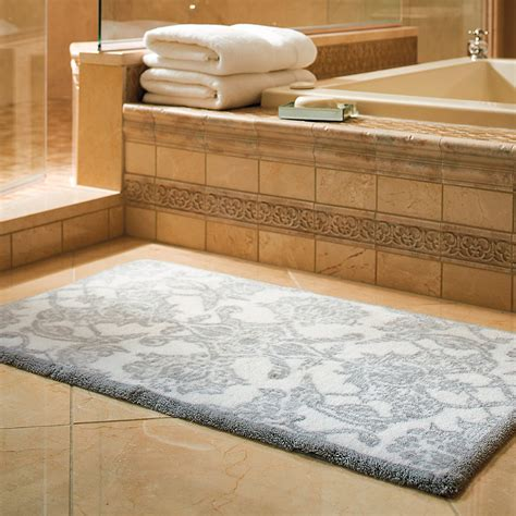 rugs for bathroom bath rug frontgate