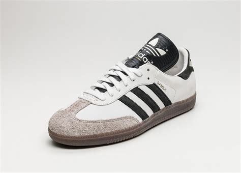 Adidas Black Made In adidas samba classic og made in germany vintage white